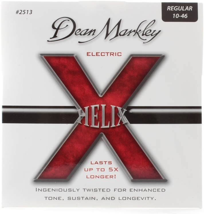 Dean Markley 2513 Helix HD Electric Guitar Strings - .010-.046 Regular image 1