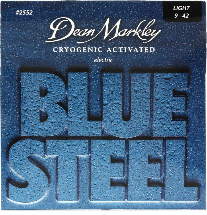 Dean Markley 2552 Blue Steel Electric Guitar Strings - .009-.042 Light image 1