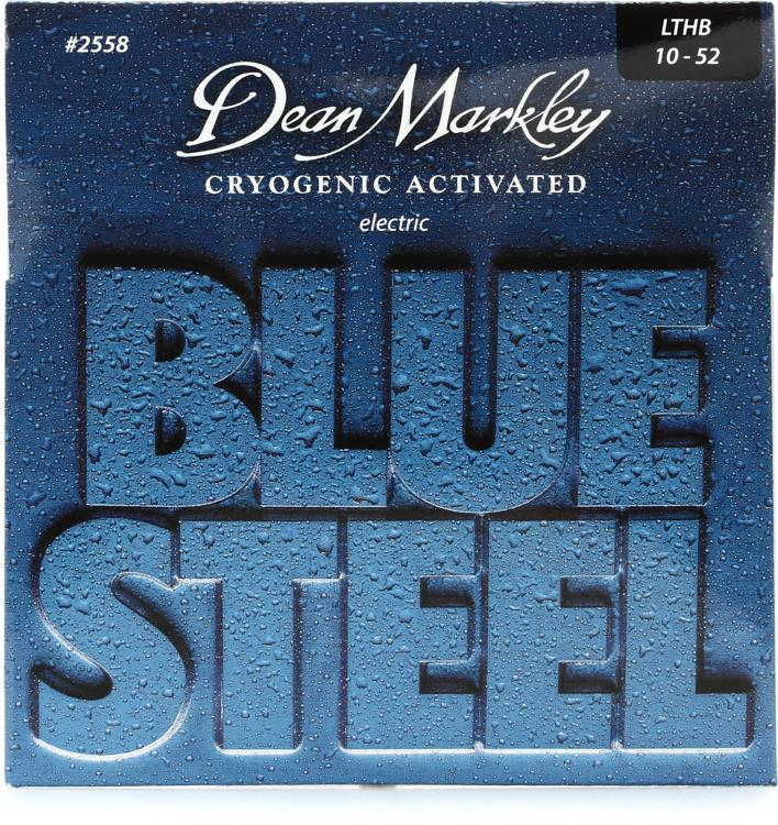 Dean Markley 2558 Blue Steel Electric Guitar Strings - .010-.052 Lt Top/Hvy Bottom image 1