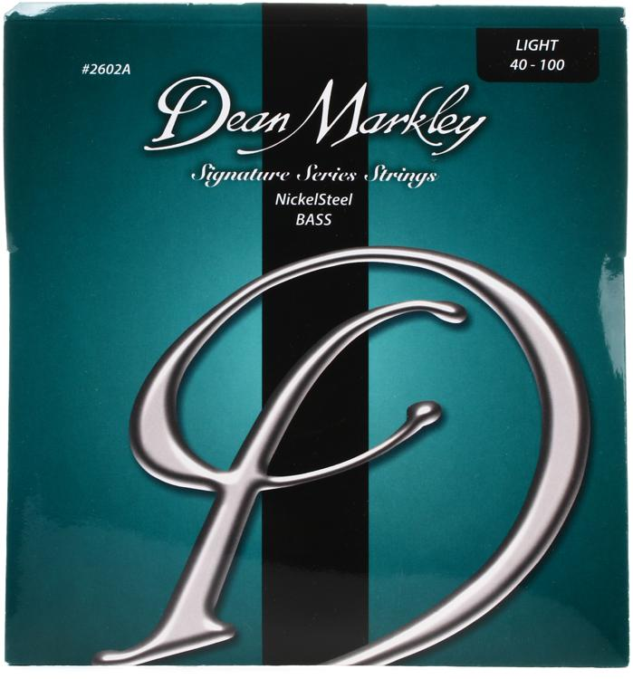 Dean Markley 2602A Nickel Steel Bass Guitar Strings - .040-.100 Light image 1