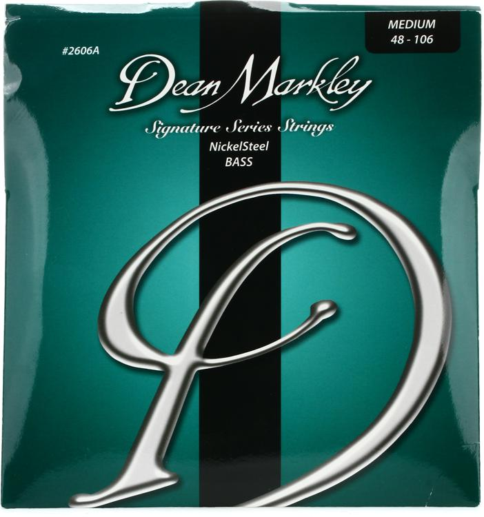 Dean Markley 2606A Nickel Steel Bass Guitar Strings - .048-.106 Medium image 1