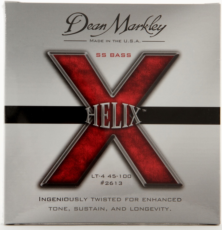 Dean Markley 2613 Helix HD Stainless Steel Bass Strings - .040-.100 Light image 1