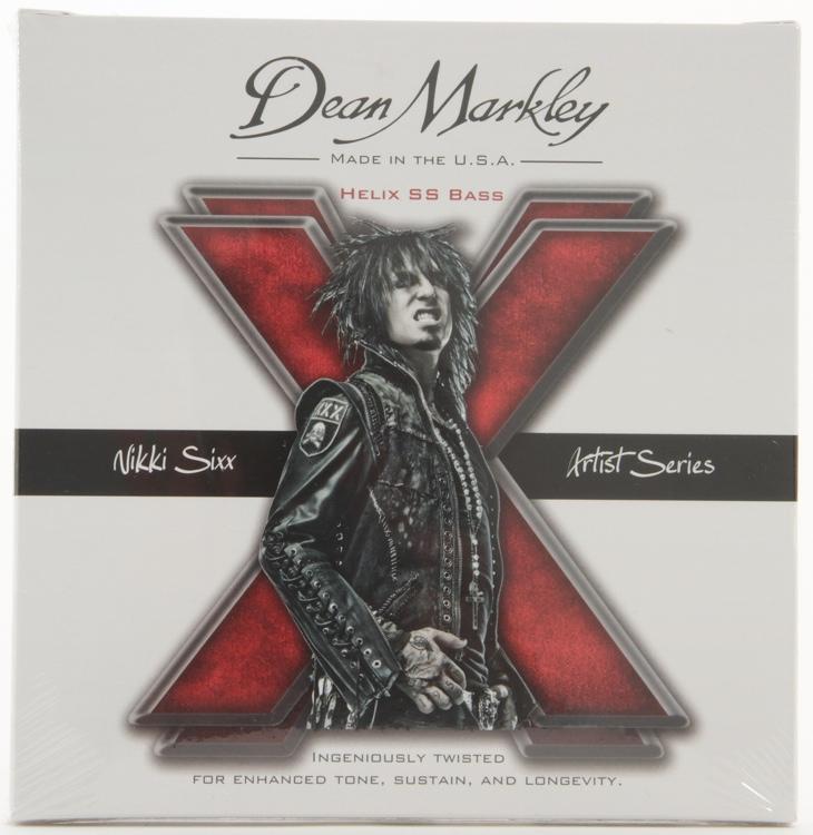 Dean Markley 2620 Helix HD Stainless Steel Bass Strings - .050-.110 Nikki Sixx Custom image 1