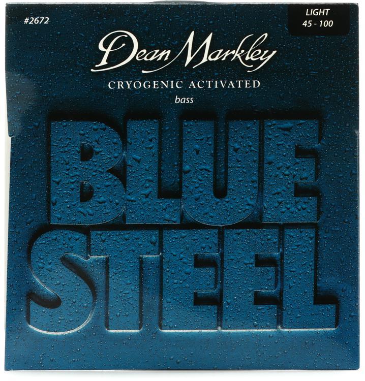 Dean Markley 2672 Blue Steel Bass Guitar Strings - .045-.100 Light image 1
