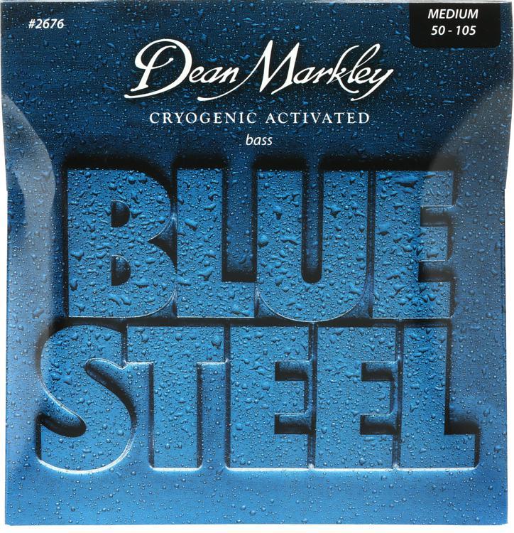 Dean Markley 2676 Blue Steel Bass Guitar Strings - .050-.105 Medium image 1