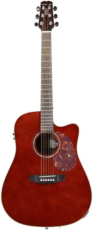 Wechter Guitars Maple Lake DN-2411CE - Hazel Nut Brown image 1