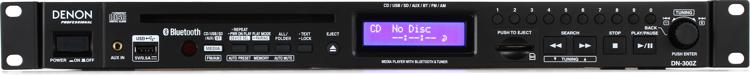 Denon DN-300Z Media Player with Bluetooth Receiver and AM/FM Tuner image 1
