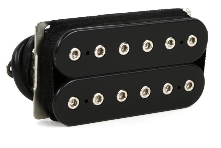 DiMarzio DP252 Gravity Storm Neck Pickup - F-Spaced Black image 1