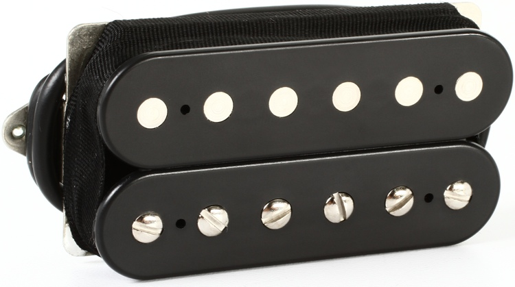 DiMarzio PAF Master Neck Humbucker Pickup - F-spaced Black image 1