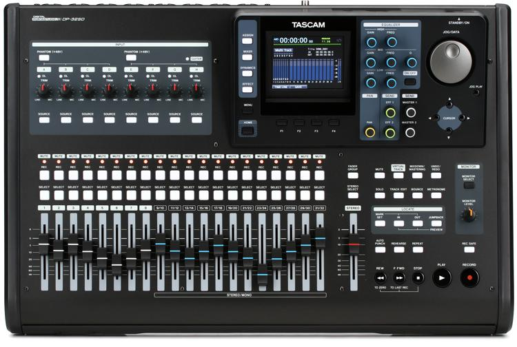 TASCAM DP-32SD 32-track Digital Portastudio image 1