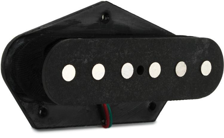 DiMarzio Area T Bridge Tele Pickup - Black image 1