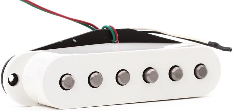 DiMarzio Injector Neck Single Coil Pickup - White image 1