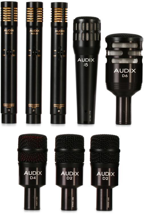 Audix DP7 Plus Bundle image 1