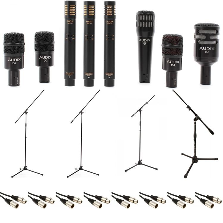 Audix DP7 Plus Drum Package with Stands and Cables image 1