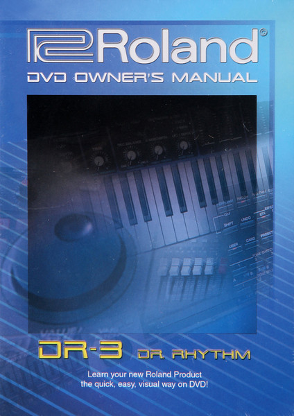 Boss DR-3 DVD Video Manual image 1