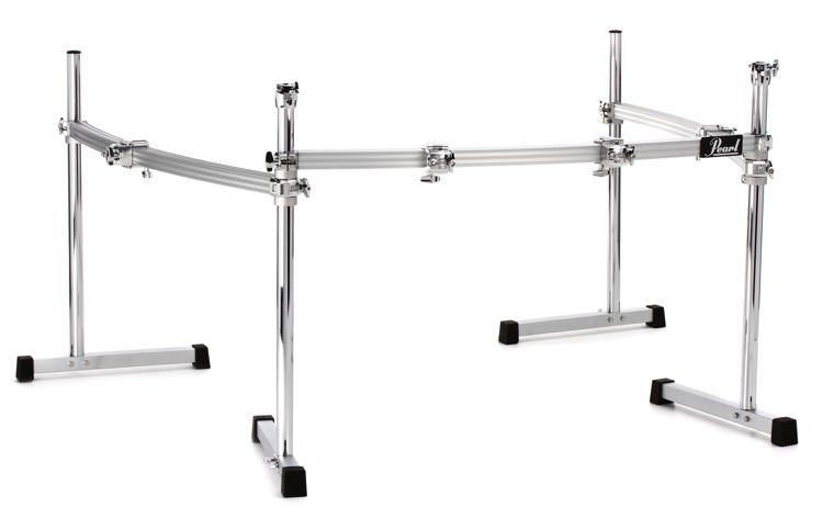Pearl Icon 3-Sided Drum Rack - Curved image 1