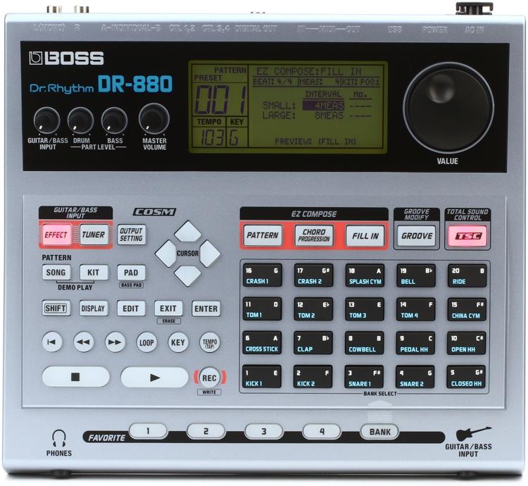 Boss Dr 880 : boss dr 880 drum machine sweetwater ~ Vivirlamusica.com Haus und Dekorationen