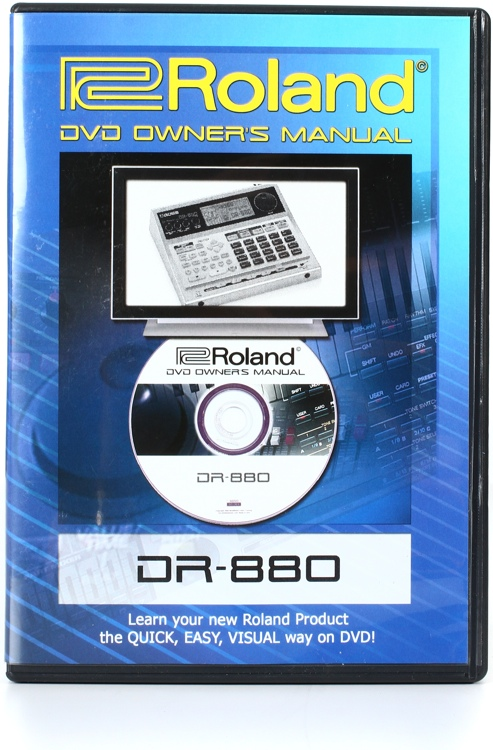 Roland DR-880 DVD Video Manual image 1
