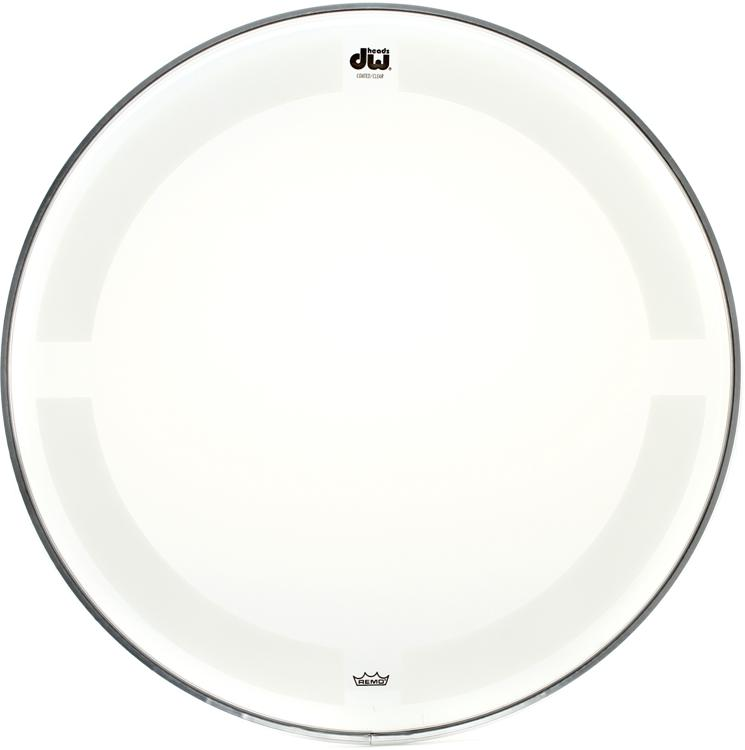 DW Coated/Clear Drumhead - 13