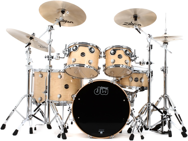 DW Performance Series 6-piece Shell Pack with Snare Drum - 20