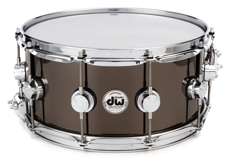 DW Collector\'s Series Metal Snare - 6.5