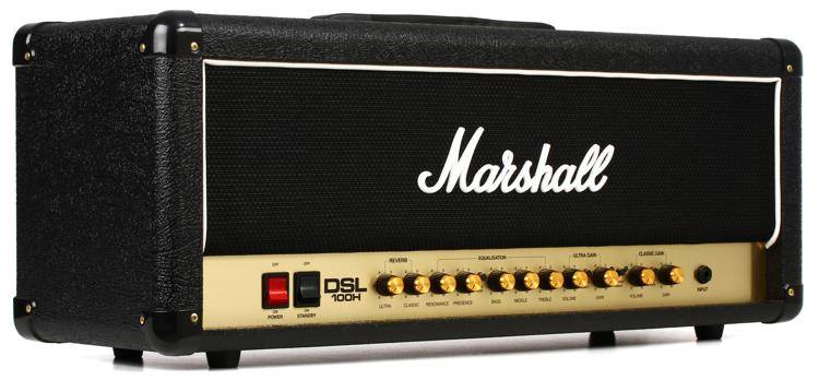 Marshall DSL100H 100-watt 2-channel Tube Head image 1