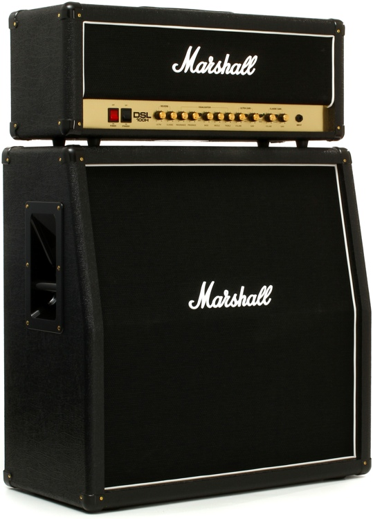 Marshall DSL100H Bundle - Head and MX412A Cabinet Bundle   Sweetwater
