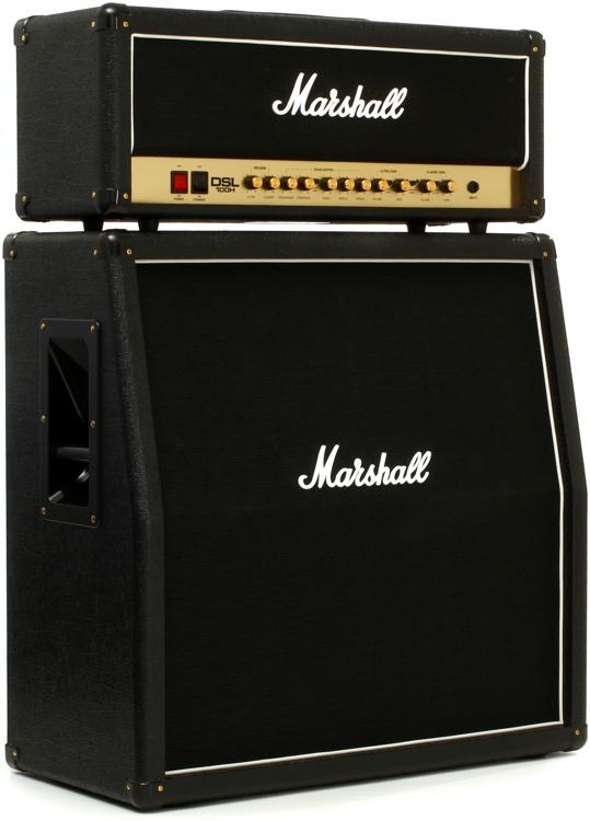 Marshall DSL100H Bundle - Head and MX412A Cabinet Bundle image 1