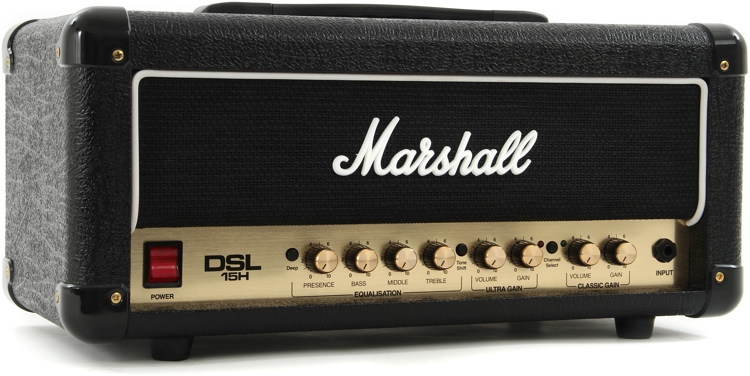 Marshall DSL15H 15/7.5-watt Tube Head image 1