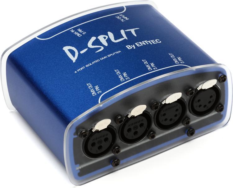 ENTTEC D-SPLIT 512-Ch DMX Splitter/Isolator image 1