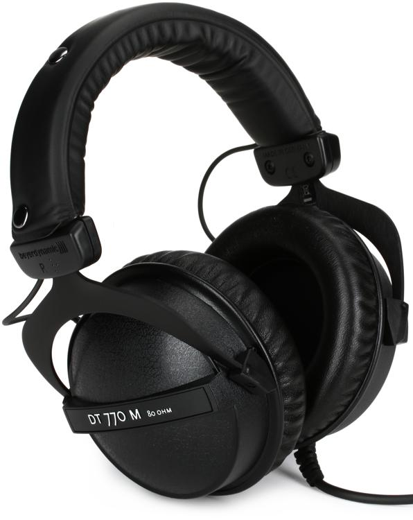 Beyerdynamic DT 770 M 80 ohm Closed-back Isolating Monitor Headphones image 1