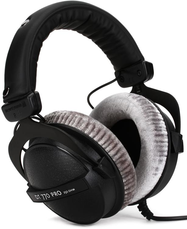 beyerdynamic dt 770 pro 250 ohm closed back studio mixing headphones sweetwater. Black Bedroom Furniture Sets. Home Design Ideas