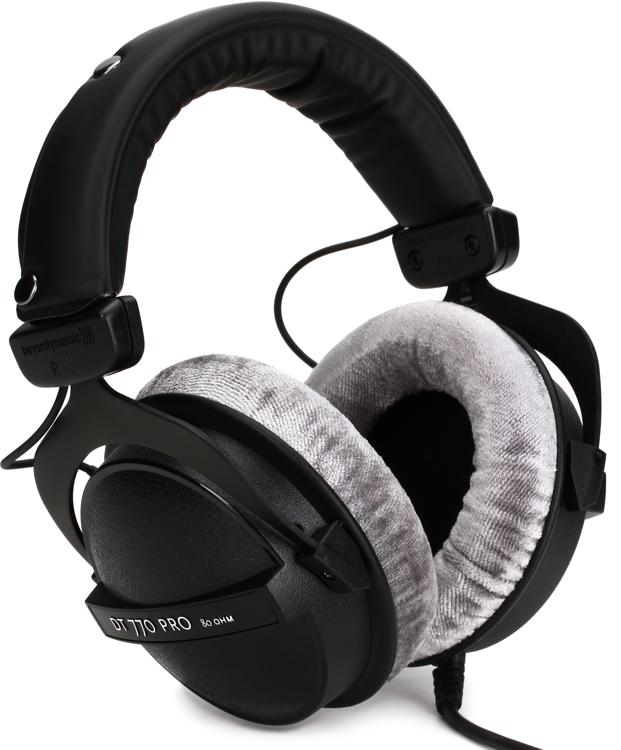 beyerdynamic dt 770 pro 80 ohm closed back studio mixing headphones sweetwater. Black Bedroom Furniture Sets. Home Design Ideas