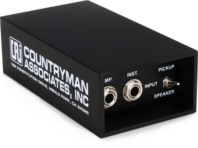 Countryman Type 85 1-channel Active Instrument Direct Box image 1