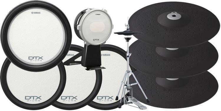 Yamaha DTP582 Drum Pad & Cymbal Set image 1