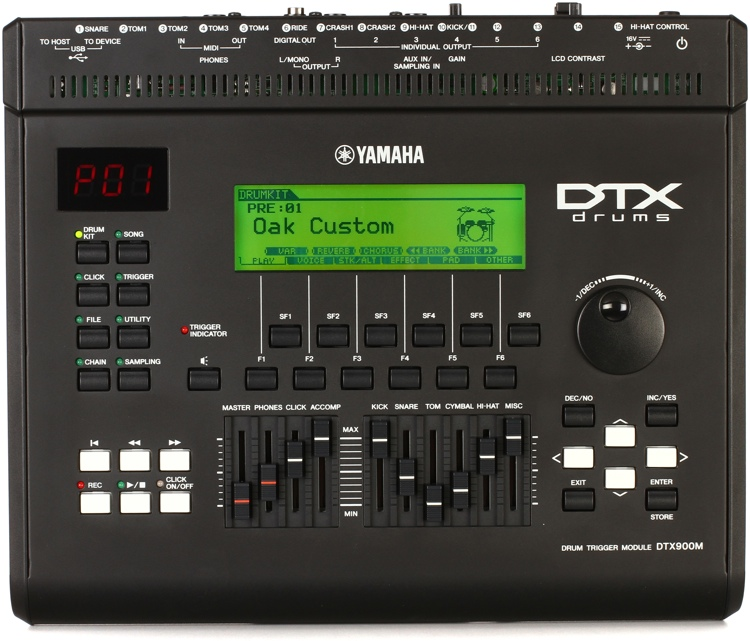 Yamaha DTX900 Trigger Module image 1