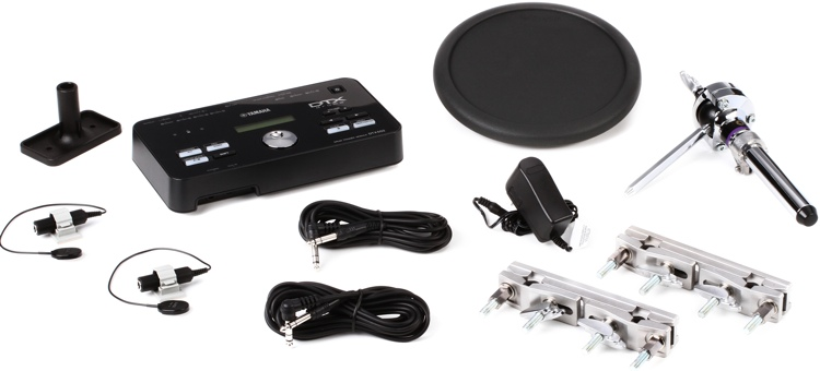 Yamaha DTXHP570 Hybrid Add-on Package with 1 Rubber Pad image 1