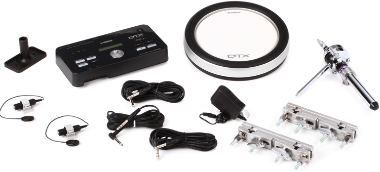 Yamaha DTXHP580 Hybrid Add-on Package with 1 Pad image 1