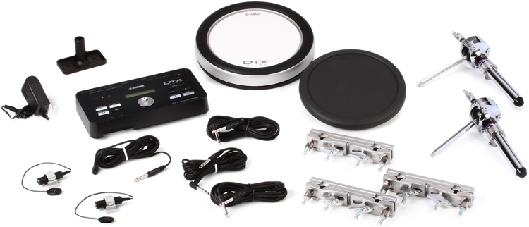 Yamaha DTXHP587 Hybrid Add-on Package with 1 Textured and 1 Rubber Pad image 1