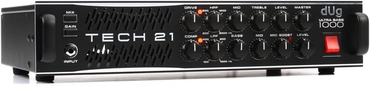 Tech 21 dUg Pinnick Signature 1000-Watt Bass Amp Head image 1
