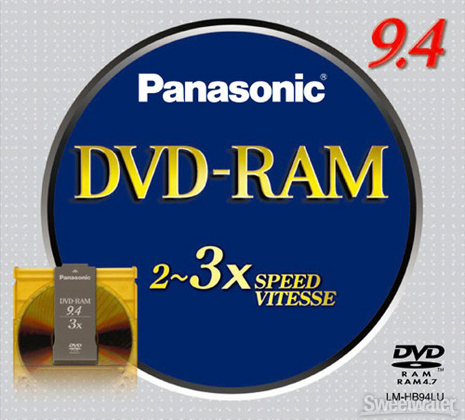 Panasonic Media DVD RAM Media image 1