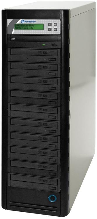 Microboards DVD-PRM NET-10 - 10-Bay image 1