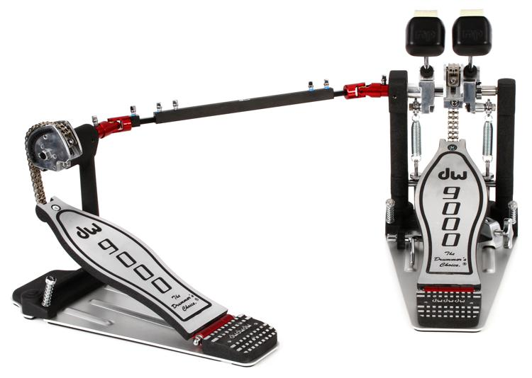 DW 9000 Series Pedal - Double - Standard Footboard image 1
