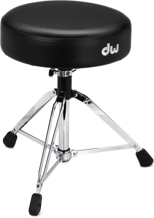 DW 9000 Series Drum Throne - Round Seat - Solid Spindle image 1