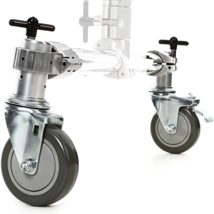 DW Rack Casters - Single Brake (Pair) image 1