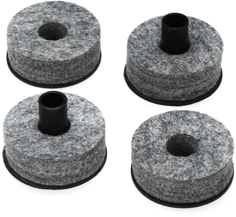 DW Top and Bottom Cymbal Felts - 2 pair image 1