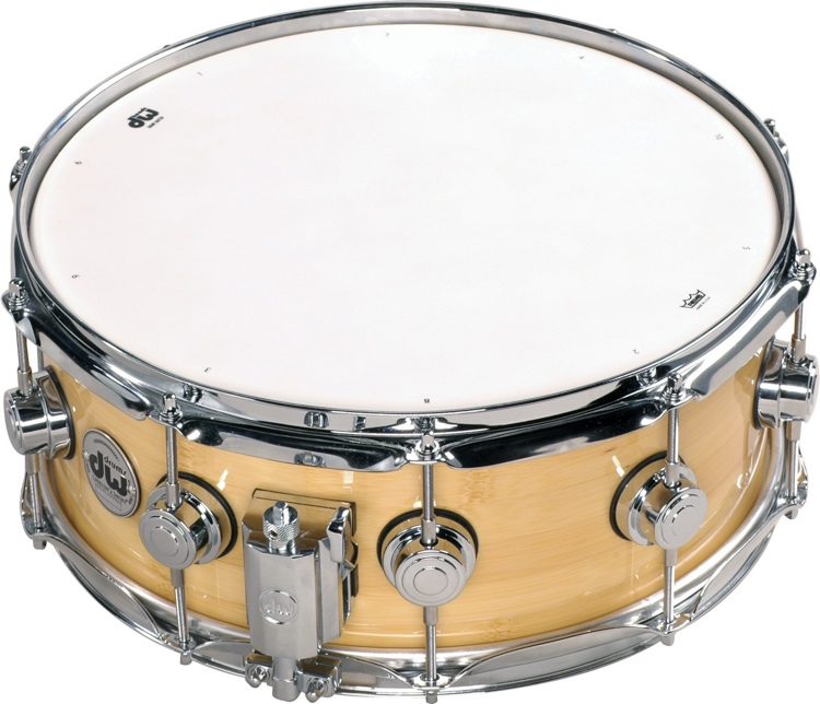 DW Collector\'s Series Eco X Bamboo/Birch Snare 5.5
