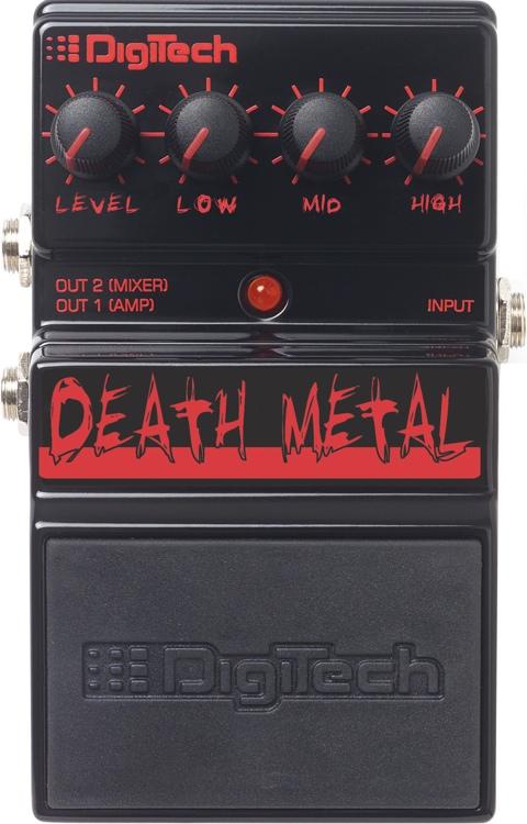 DigiTech Death Metal Distortion Pedal image 1