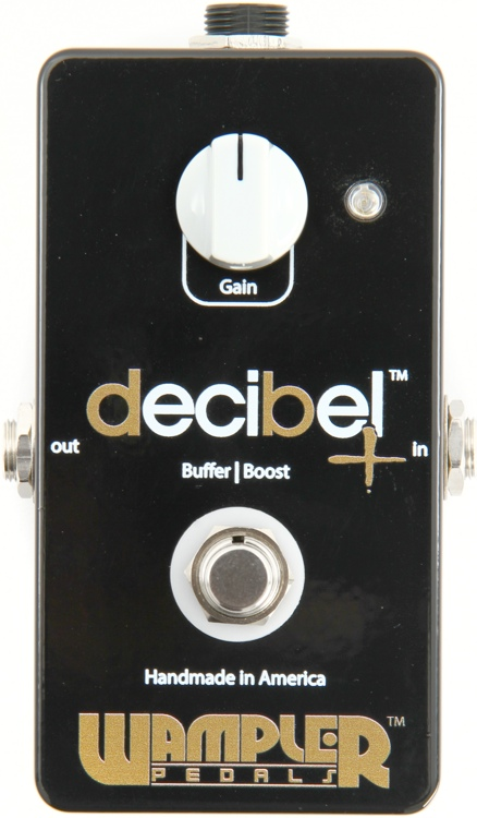 Wampler decibel+ Buffer/Boost image 1