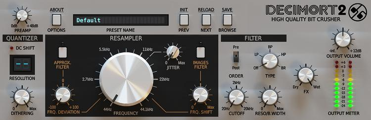D16 Group Decimort 2 Bit Crusher Plug-in image 1